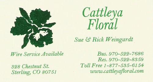 Cattleya Floral Logo