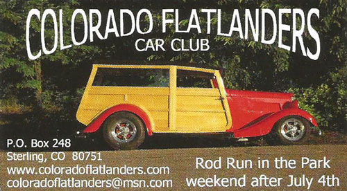 Colorado Flatlanders Car Club Logo