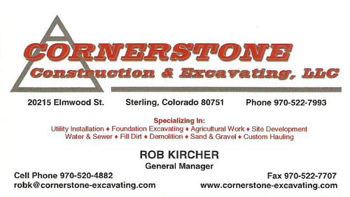 Cornerstone Construction & Excavating
