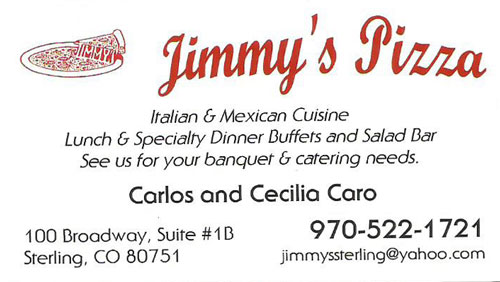 Jimmy's Pizza Logo
