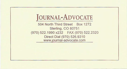 Journal Advocate Logo