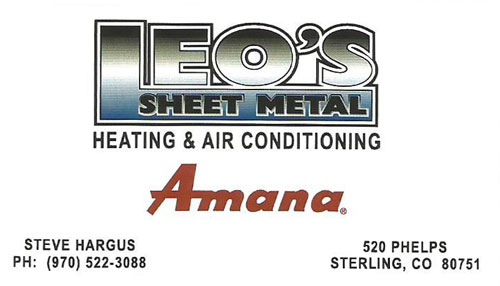 Leo's Sheet Metal Heating and Air Conditioning Logo