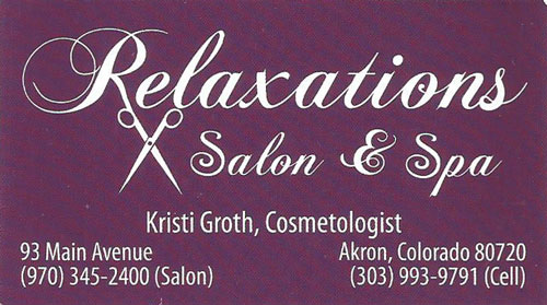 Relaxation Salon and Spa Logo
