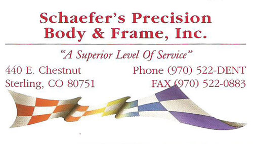 Schaefer's Precision Body and Frame Logo