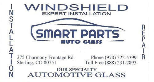 Smart Parts Auto Glass Logo