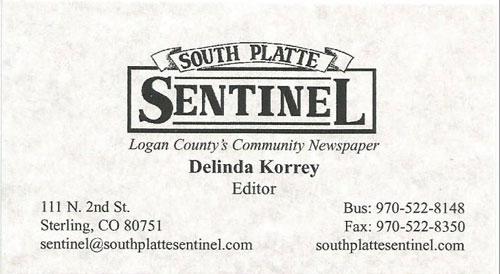 South Platte Sentinel Logo