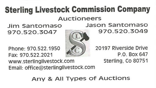 Sterling Livestock Commission Logo
